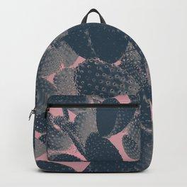 pink negative cactus Backpack
