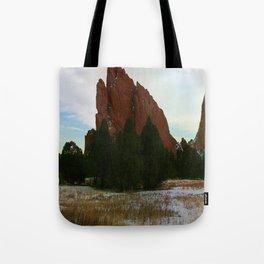 Jutting Peak Tote Bag