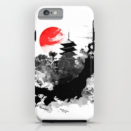 Abstract Kyoto - Japan iPhone Case