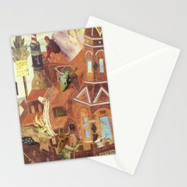 """""""Reconstruction of Cuaxies"""" Stationery Cards"""