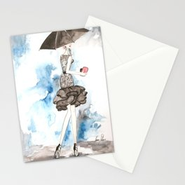 Rainy Stationery Cards