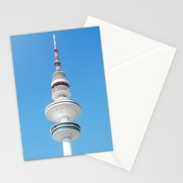 Fernsehturm, Hamburg Germany Stationery Cards