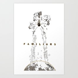 Familiars Cover Art Print