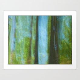 Ghost Pines Art Print