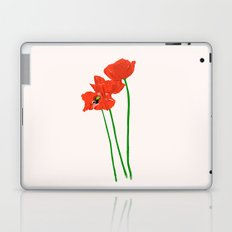 Lovely Poppies Laptop & iPad Skin