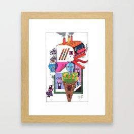 Home yet Framed Art Print