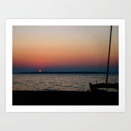 Lovely Sunset Art Print