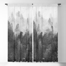 Forest Melody - Redwood National Park Blackout Curtain