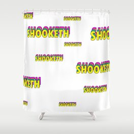 SHOOKETH Shower Curtain