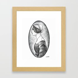 Renaissance Woman Framed Art Print