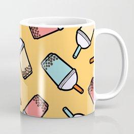 Bubble Tea Pattern Coffee Mug