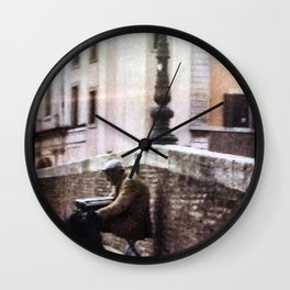 Sound of Silence Wall Clock
