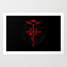 Full of Alchemy - Fullmetal alchemist Art Print