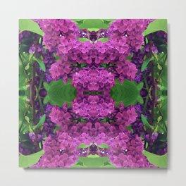 216 - lilacs abstract design Metal Print