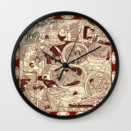 HP Inspired Chamber of Secrets Wall Clock