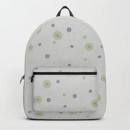 Gentle Green Dots Backpack