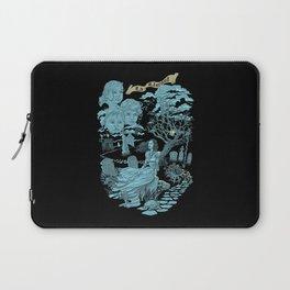 Hispanic Legend La Llorona (blue)  Laptop Sleeve