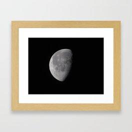 I Just Curse The Sun So I Can Howl At The Moon Framed Art Print