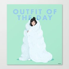 Outfit of the day Canvas Print