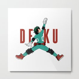 Air Deku Metal Print