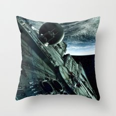 Milleniuim Falcon Throw Pillow