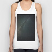 milky way Tank Tops featuring Milky Way  by Mikography