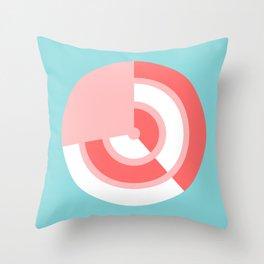 STRAWBERRY-CREAM TARGET Throw Pillow