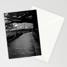 Old San Juan at Dusk Stationery Cards