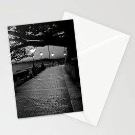 Old San Juan at Dusk Stationery Cards
