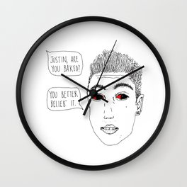 Justoned Wall Clock