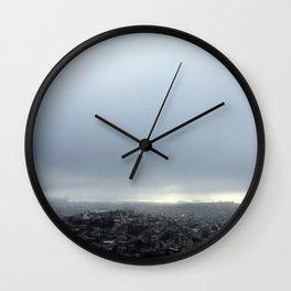 San Francisco Fog Wall Clock