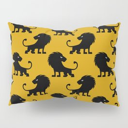 Angry Animals - lion Pillow Sham