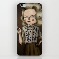mad men iPhone & iPod Skins featuring Betty Draper (Mad men) by Maripili