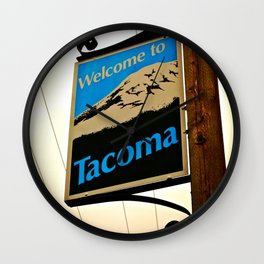 Welcome to Tacoma Wall Clock