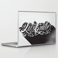 cuddle Laptop & iPad Skins featuring Lets Cuddle by Joganic