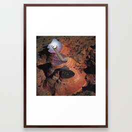 40 - catch a falling star and put it in your pocket Framed Art Print