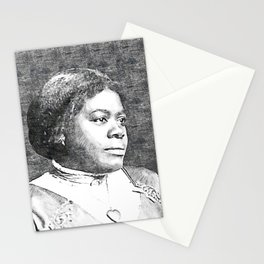 Mary Jane McLeod Bethune - SketchArt - American Educator Society6 Online Artworks 4432 Stationery Cards