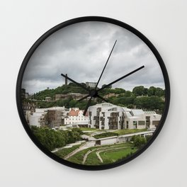 Old and New Edinburgh Wall Clock