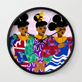 Heiresses Wall Clock