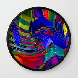 O V E R S T R U N G Wall Clock