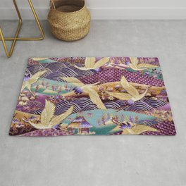 Embroidery Textile Art Rug