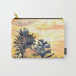 Ink Sunset Carry-All Pouch