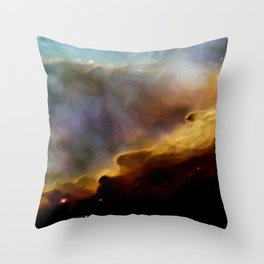 A Space of New Dawn Throw Pillow