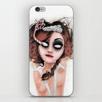 rocky horror iPhone & iPod Skins featuring Untitled III by Rouble Rust