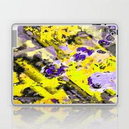 Purple Yellow Passion Laptop & iPad Skin