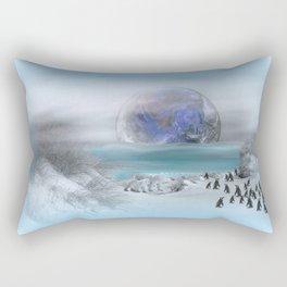 world of ice Rectangular Pillow