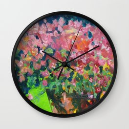 Pink Pretties Wall Clock