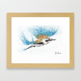 Clever Kookaburra Framed Art Print