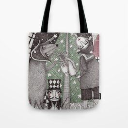 Of Snow and Stars and Christmas Wishes Tote Bag