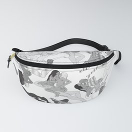 Wild Lines Fanny Pack